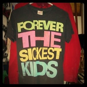 """Band T-shirt """"Forever The Sickest Kids"""""""